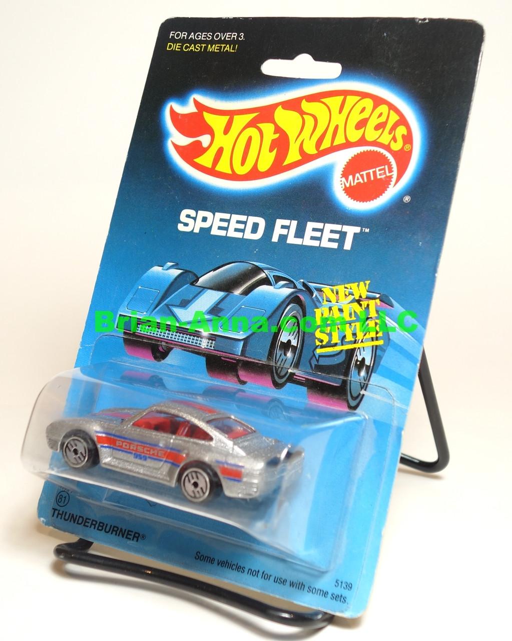 Hot Wheels Prototype/Sample, Porsche 959, Metalflake Silver, Red Interior, UH wheels