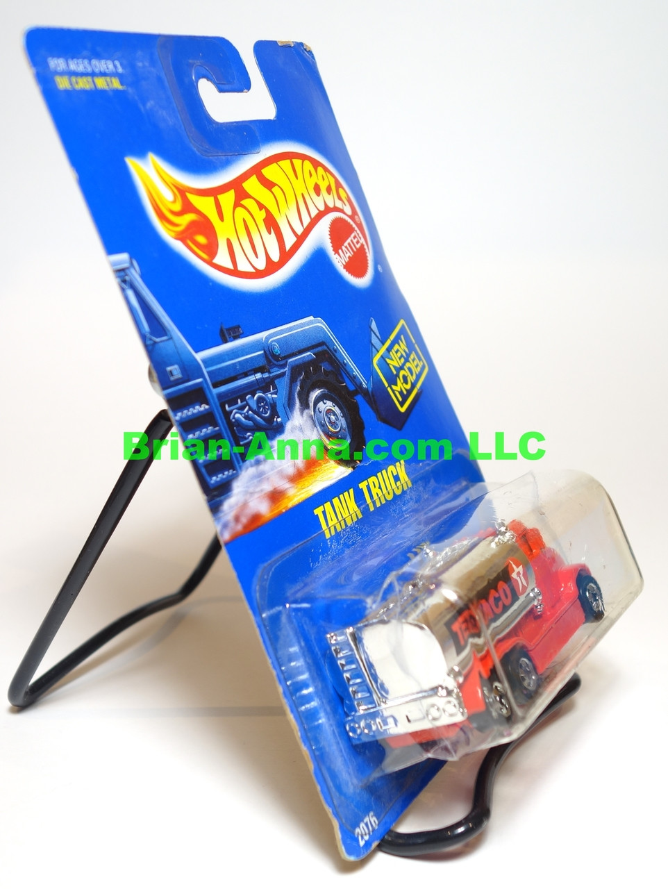 Hot Wheels Prototype/Sample, Tank Truck with Texaco artwork, BW wheels