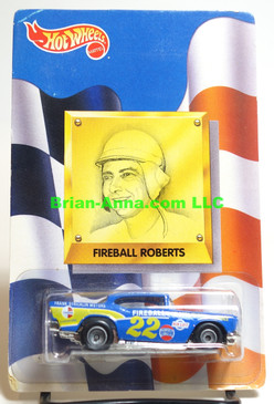 Hot Wheels Prototype/Sample, 57 Chevy, Fireball Roberts, Rubber Tires