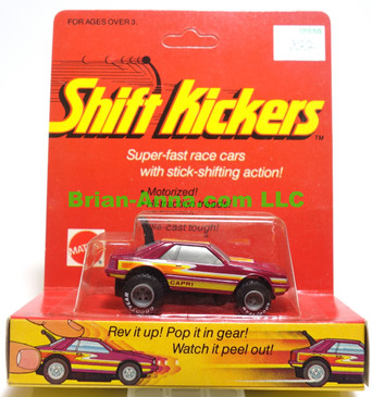 Mattel Toys Shift Kickers, Cookin Capri in Maroon,  still in the package