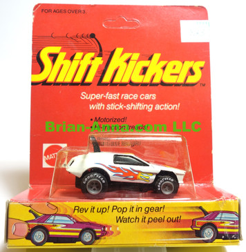 Mattel Toys Shift Kickers, High Frequency in White, still in the package