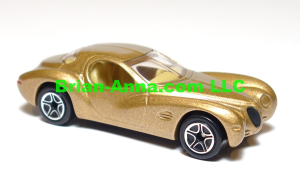 Matchbox Chrysler Atlantis in Gold, loose