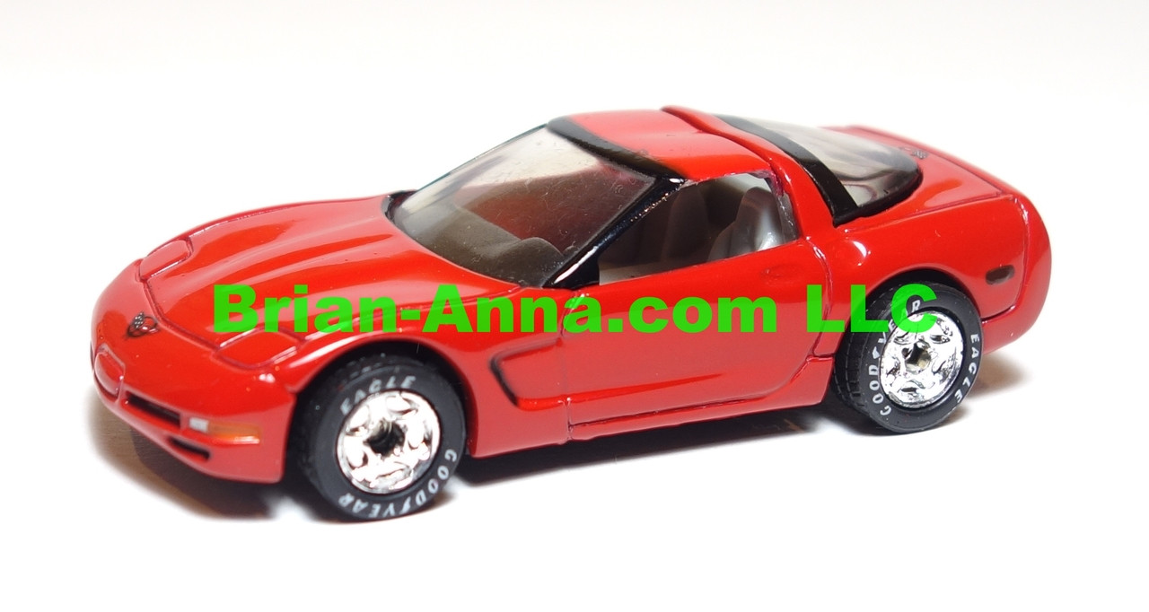 Matchbox Premier Series, Chevy Corvette in Red, loose