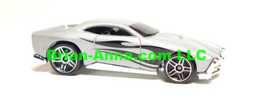 Hot Wheels 2008 Mystery Car, GT-03 in Silver, loose