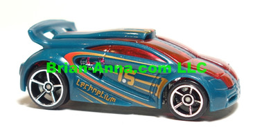 Hot Wheels 2008 Mystery Car, Technetium in Dark Green, loose