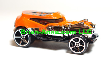 Hot Wheels 2007 Mystery Car, Shell Shock in Orange,  loose