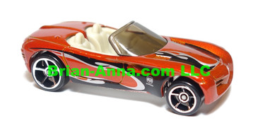 Hot Wheels 2009 Mystery Car, Dodge Concept Car, Copperhead in Burnt Orange,  loose (hwl-900)