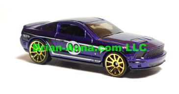 Hot Wheels 2009 Mystery Car, 07 Ford Mustang Shelby GT500 in Purple,  loose
