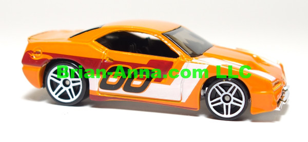 Hot Wheels 2007 Mystery Car, Rapid Transit in Orange,  loose