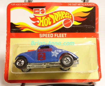 Hot Wheels Leo Mattel India, Blue Neet Streeter, Red Rescue tampo, on unpunched card