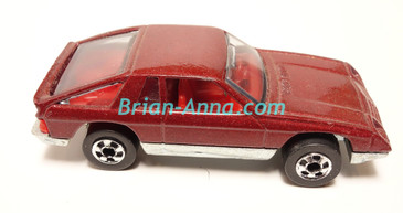 Hot Wheels Leo Mattel India, Maroon Omni 024, LOOSE
