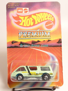 Hot Wheels Leo Mattel India, Mint Green Dream Van, unpunched card