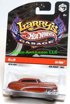 Hot Wheels Larry's Garage So Fine, Reddish/Brown
