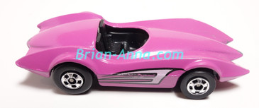 Hot Wheels Leo Mattel India, Pink Second Wind, Loose