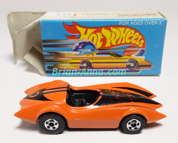 Hot Wheels Leo Mattel India, Second Wind Orange with Black tampo w/Box