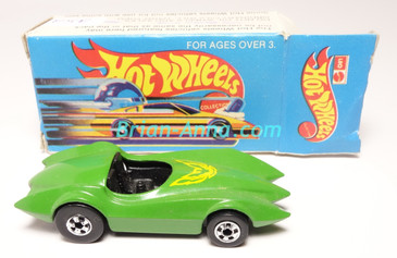 Hot Wheels Leo Mattel India, Second Wind Green with Hot Bird tampo,  w/Box