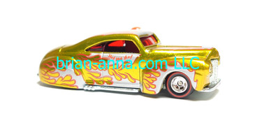 Hot Wheels 2007 Holiday Rods, Taildragger in Gold, loose