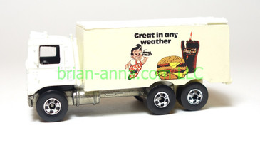 Hot Wheels Newsletter, Hiway Hauler Bob's Big Boy, loose