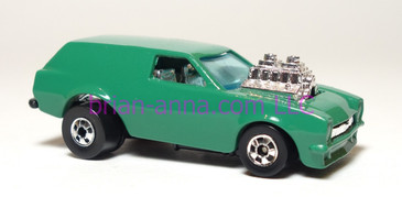 Hot Wheels Poison Pinto, Teal Green made in France, loose