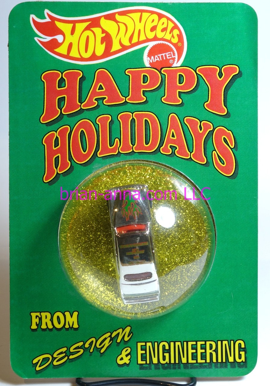 Hot wheels 1993 Passion Employee Christmas Car Happy Holidays