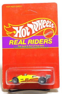 Hot Wheels Prototype/Sample, Market Research Blisterpaks, Real Riders Turbo Streak