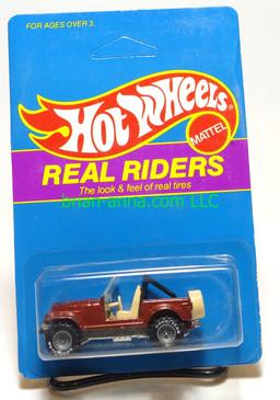 Hot Wheels Prototype/Sample, Market Research Blisterpaks, Real Riders Jeep CJ-7