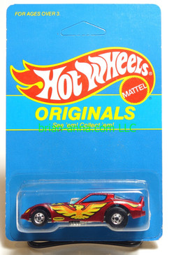 Hot Wheels Prototype/Sample, Market Research Blisterpaks, Originals Firebird Funny Car