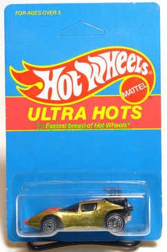 Hot Wheels Prototype/Sample, Market Research Blisterpaks, Ultra Hots Flame Runner