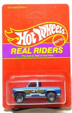 Hot Wheels Prototype/Sample, Market Research Blisterpaks, Real Riders Bywayman