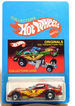 Hot Wheels Prototype/Sample, Market Research Blisterpaks, Originals Firebird Funny Car