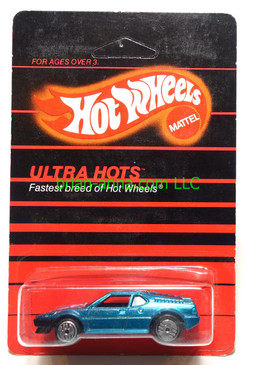 Hot Wheels Prototype/Sample, Market Research Blisterpaks, Ultra Hots Wind Splitter