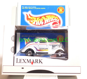 Lexmark 3-Window 1934 Ford Coupe Limited Edition Hot Wheel in White