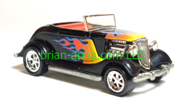Hot Wheels '33 Ford Convertible Roadster Boise Roadster Show Midnight Cruzer Promo