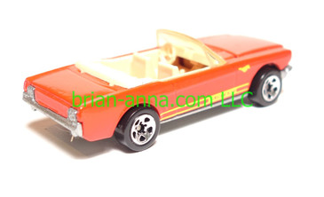 Hot Wheels '65 Ford Mustang Convertible, Red, SP5 wheels, loose