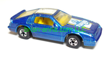 Hot Wheels Turbo Heater, Metalflake Blue, loose