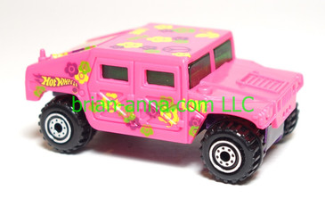 Hot Wheels Hummer, Hot Pink, loose