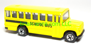 Hot Wheels School Bus, loose