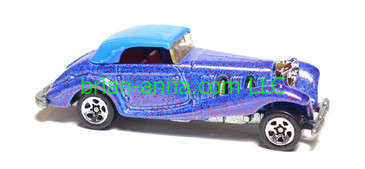 Hot Wheels Mercedes 540K, Sp5, Metalflake Purple, loose