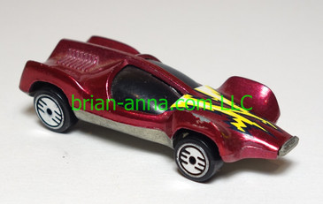 Hot Wheels Speed Seeker, met dark red, UH wheels, loose