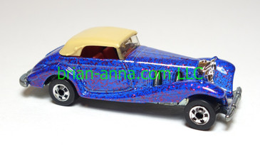 Hot Wheels Mercedes 540K, BW, Metalflake Purple, loose