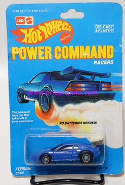 Hot Wheels Leo Mattel India, Power Command Series, Ferrari 308, Blue