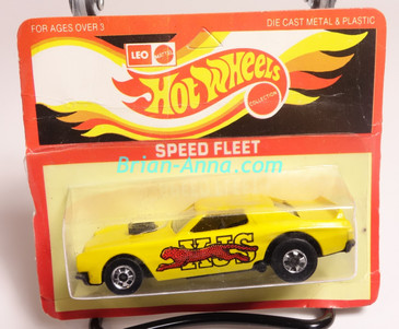 Hot Wheels Leo Mattel India, Torino Stocker, Yellow, Red Cheetah, unpunched blister