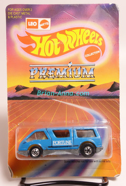 Hot Wheels Leo Mattel India, Dream Van, Blue, Fortune tampo, unpunched blister