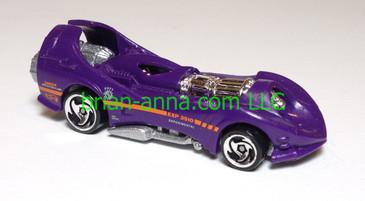 Hot Wheels Power Rocket, Purple, dw3 wheels,  loose