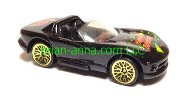 "Hot Wheels ""Happy Birthday"" Dodge Viper RT/10, Met Green, Gold Lace wheels"