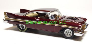 Hot Wheels 1957 Plymouth Fury Drag Car, Light Brown, Legends Series