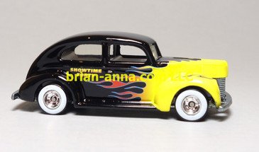 Hot Wheels 40 Ford 2 door, Showtime 40 Boise Roadster Show promo, loose
