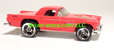 Hot Wheels '57 T-Bird Reddish Pink, SP3, China base, loose