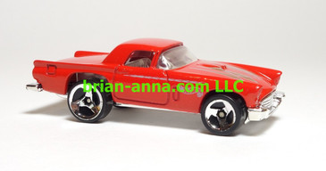 Hot Wheels '57 T-Bird Red, SP3, China base, loose