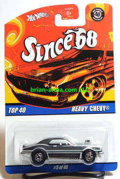 Hot Wheels Since 68 Top 40, Heavy Chevy in Black